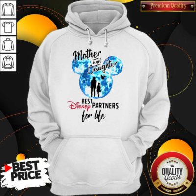 Funny Mickey Mother And Daughter Best Disney Partners For Life Hoodie