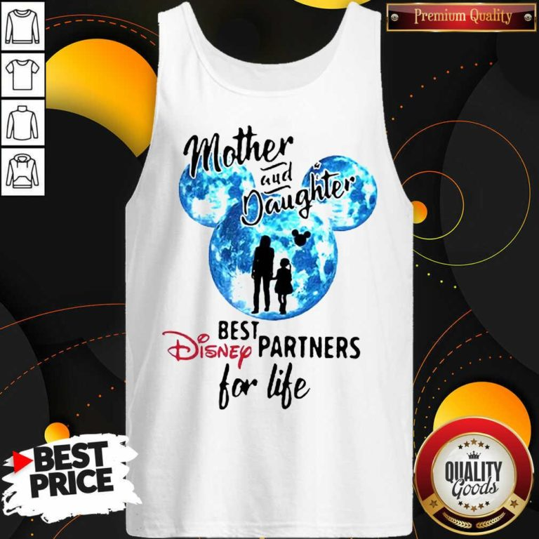 Funny Mickey Mother And Daughter Best Disney Partners For Life Tank Top