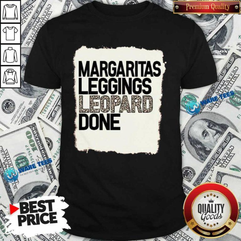 Hot Margaritas Leggings Leopard Done Shirt