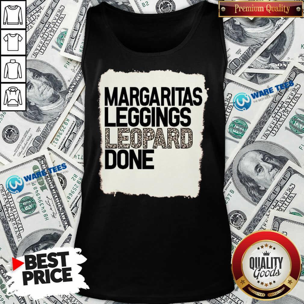 Hot Margaritas Leggings Leopard Done Tank Top