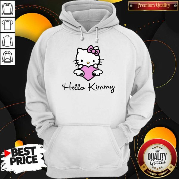 Kim Kardashian 4 Hello Kitty Hoodie - Design by Waretees.com
