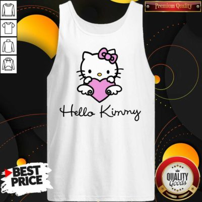 Kim Kardashian 4 Hello Kitty Tank Top - Design by Waretees.com