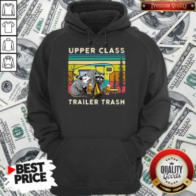 Nice Raccoons And Opossums Upper Class Trailer Trash Hoodie
