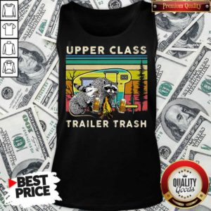 Nice Raccoons And Opossums Upper Class Trailer Trash Tank Top