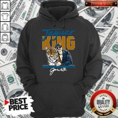 Nice Super Jaguar King Jacksonville Tiger King Hoodie