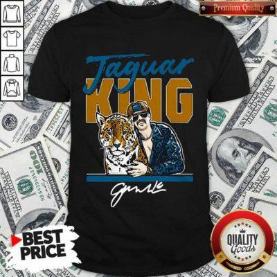 Nice Super Jaguar King Jacksonville Tiger King Shirt