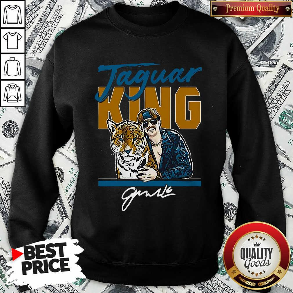 Nice Super Jaguar King Jacksonville Tiger King Sweatshirt