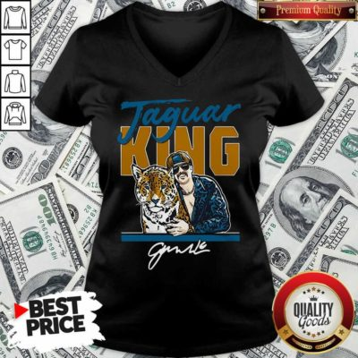 Nice Super Jaguar King Jacksonville Tiger King V-neck