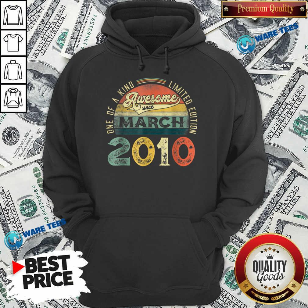 One Of A Kind Limited Edition March 2010 Hoodie - Design by Waretees.com