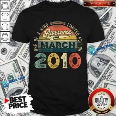 One Of A Kind Limited Edition March 2010 Shirt - Design by Waretees.com