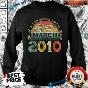 One Of A Kind Limited Edition March 2010 Sweatshirt - Design by Waretees.com