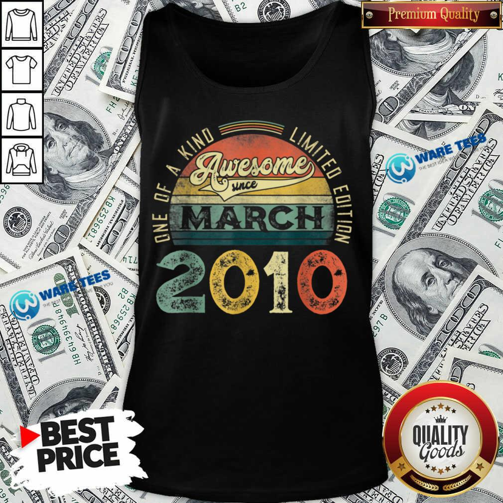 One Of A Kind Limited Edition March 2010 Tank Top - Design by Waretees.com