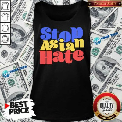 Perfect Stop Asian Hate Tank Top