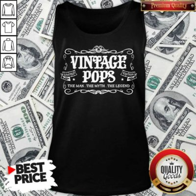 Vintage Pops 1 Limited Edition Tank Top - Design by Waretees.com