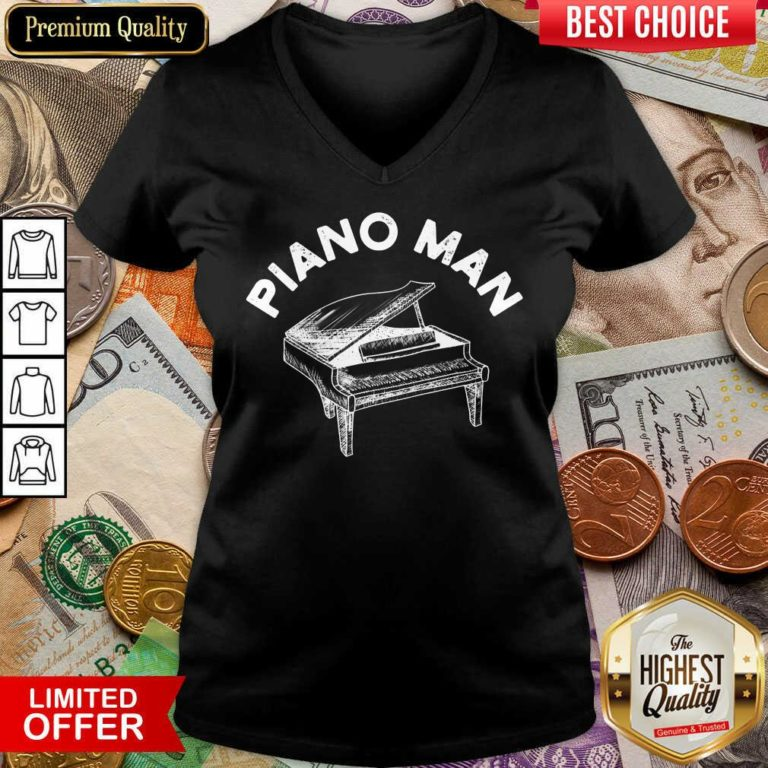 Good Piano Man V-neck
