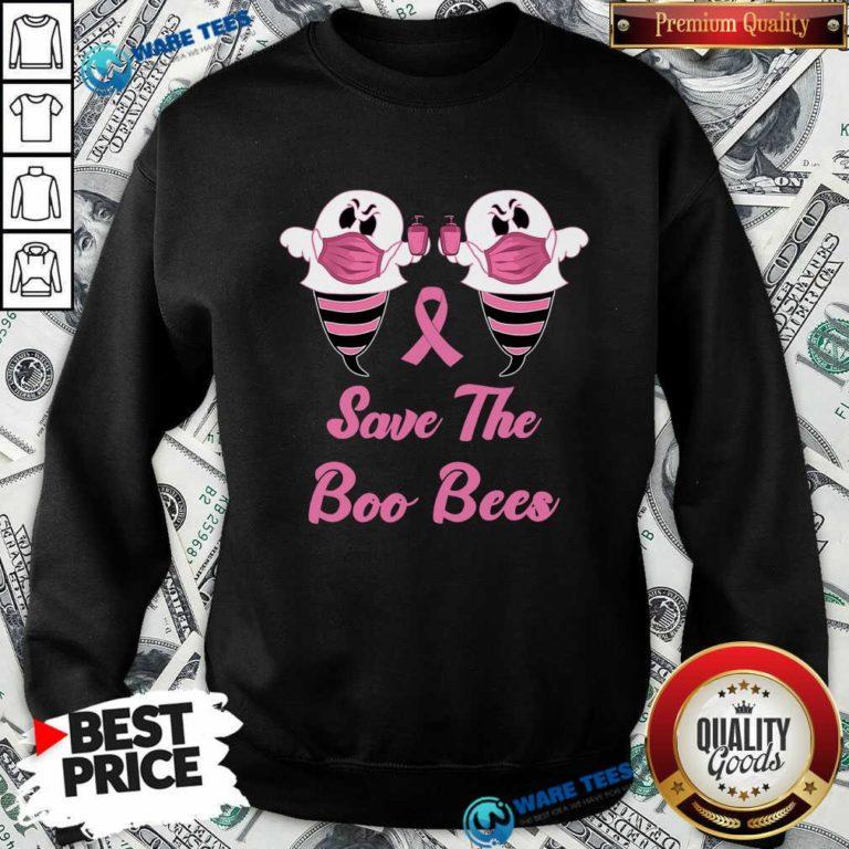 Good Save The Boo Bees Pink Sweatshirt