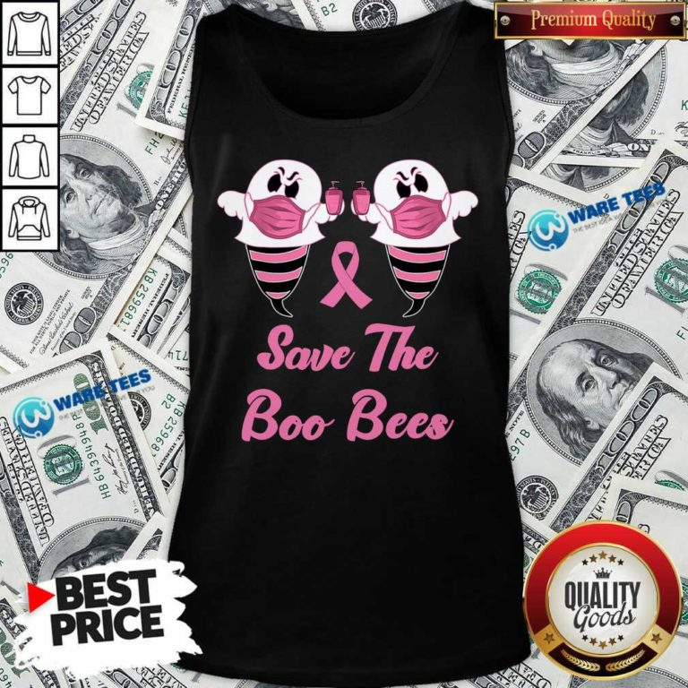 Good Save The Boo Bees Pink Tank Top