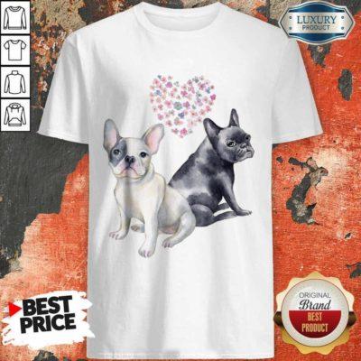 Premium Flower Lovers French Bulldog Shirt