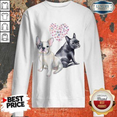 Premium Flower Lovers French Bulldog Sweatshirt