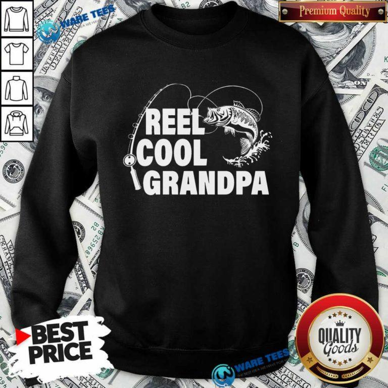 Pretty Reel Cool Grandpa Sweatshirt