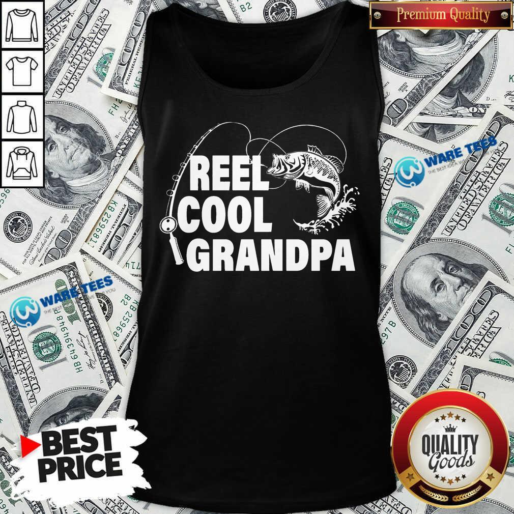 Pretty Reel Cool Grandpa Tank Top