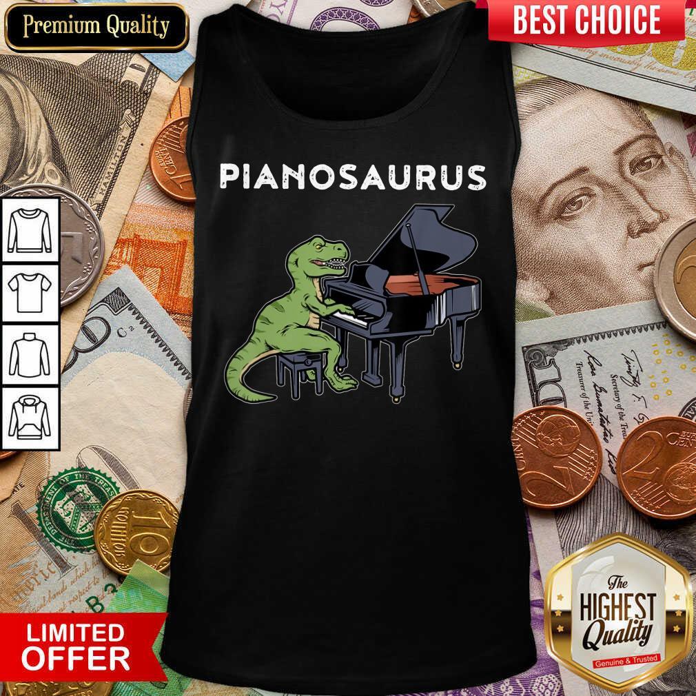 Top Pianosaurus Tank Top
