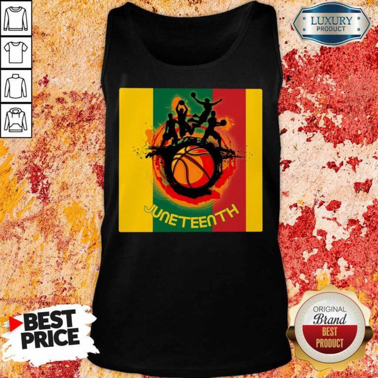 Juneteenth Basketball Team Tank Top
