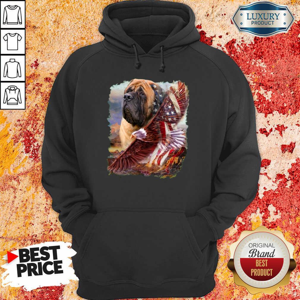 Mastiff American Eagle Patriot For Lover Hoodie