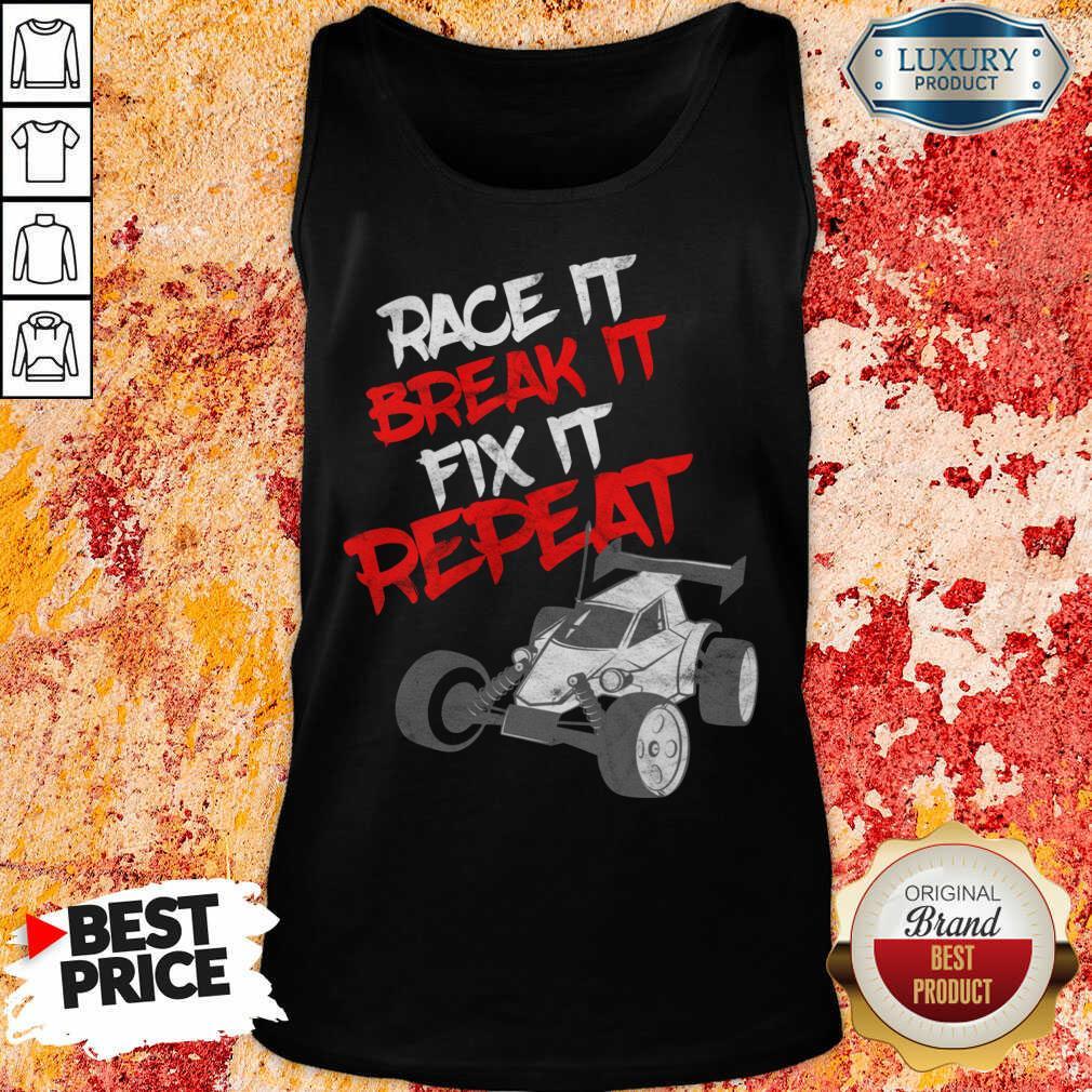Race It Break It Repeat Tank Top