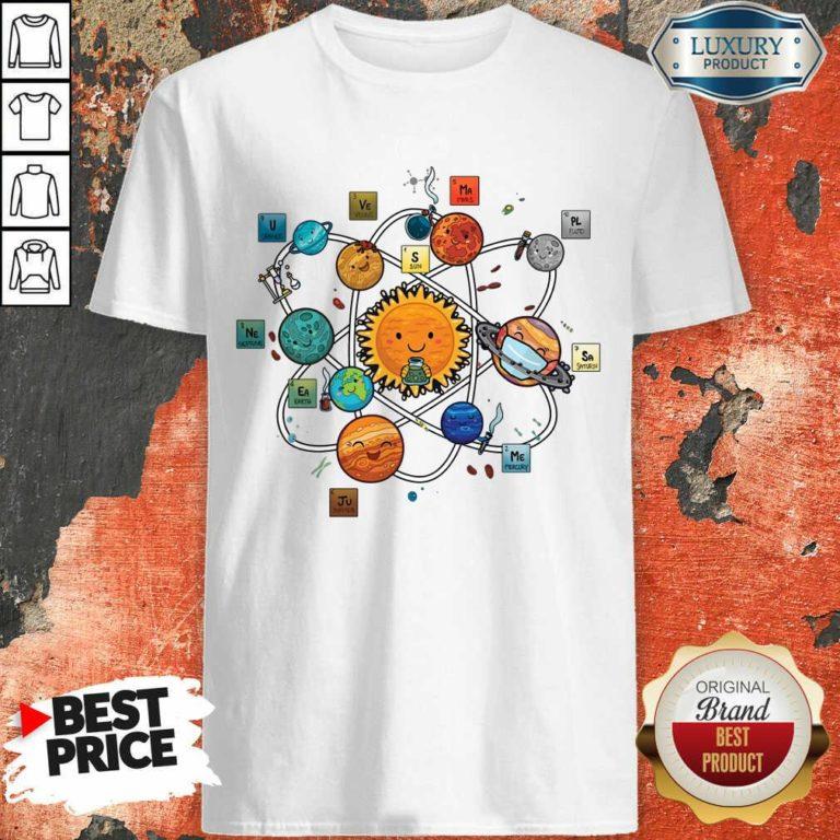 Solar System Chemistry Shirt