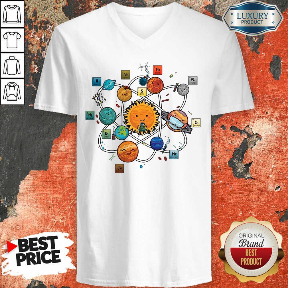 Solar System Chemistry V-neck