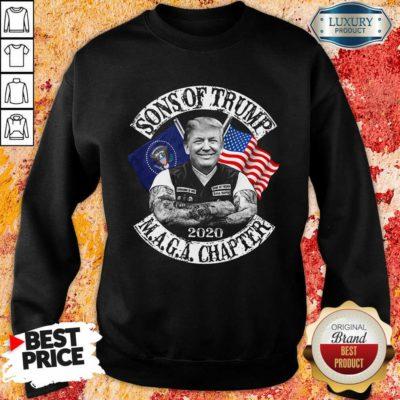 Sons Of Trump Maga Chapter Sweatshirt