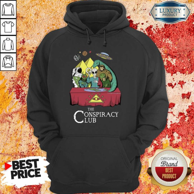 The Conspiracy Club Hoodie
