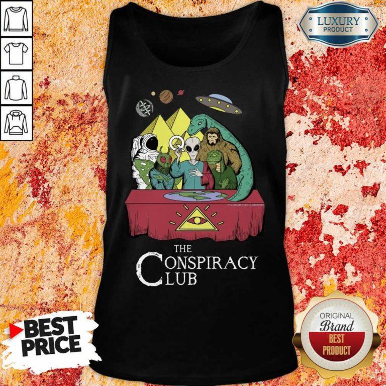 The Conspiracy Club Tank Top