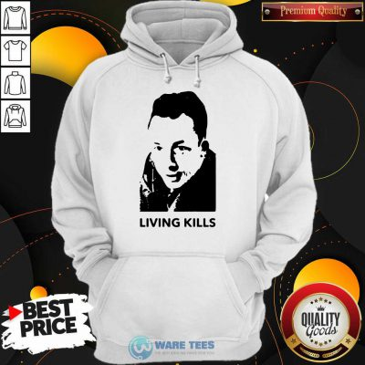 Albert Camus Living Kills Hoodie
