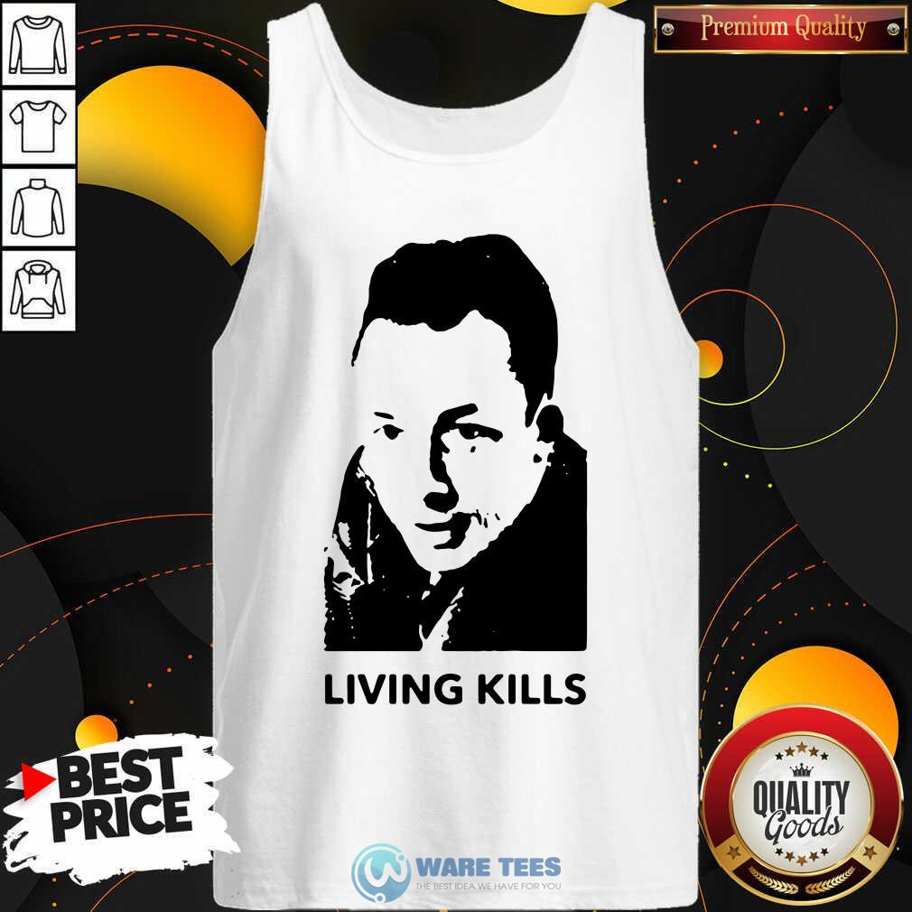 Albert Camus Living Kills Tank Top