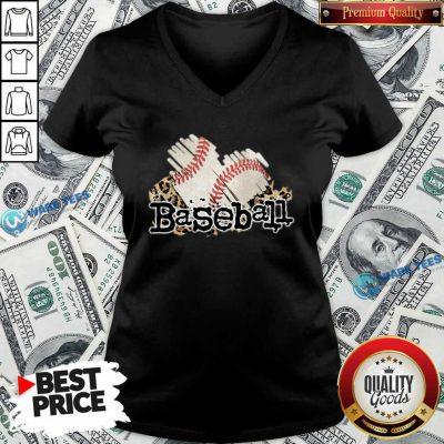 Baseball Heat V-neck