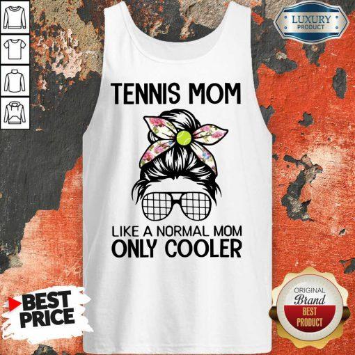 Bun Hair Tennis Mom Only Cooler Tank Top