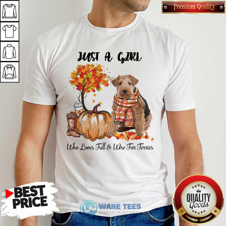 Dog And Pumpkin Just A Girl Who Loves Fall And Wire Fox Terrier Halloween Hoodie