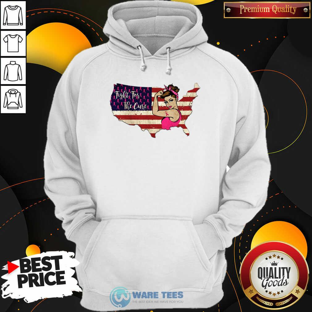 Fight For The Cure Breast Cancer Awareness Hoodie