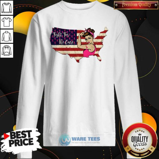 Fight For The Cure Breast Cancer Awareness Sweatshirt