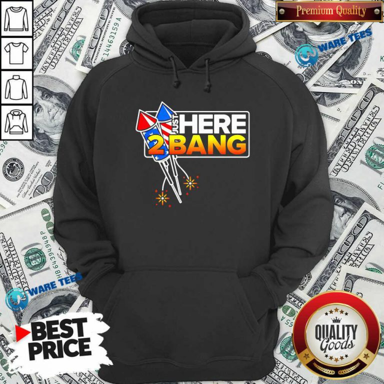 Firework Just Here 2 Bang 4th Of July Hoodie