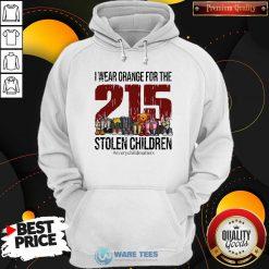 I Wear Orange For The 215 Stolen Children Hoodie