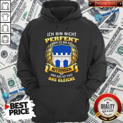 Ich Bin Nicht Perfekt Aber Das Gleiche Hoodie