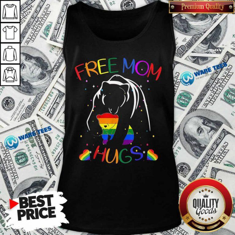 LGBT Bear Free Mom Hugs Tank Top