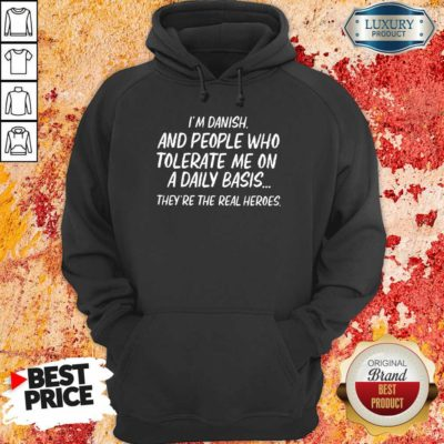 People Who Tolerate Me On A Daily Basis Hoodie