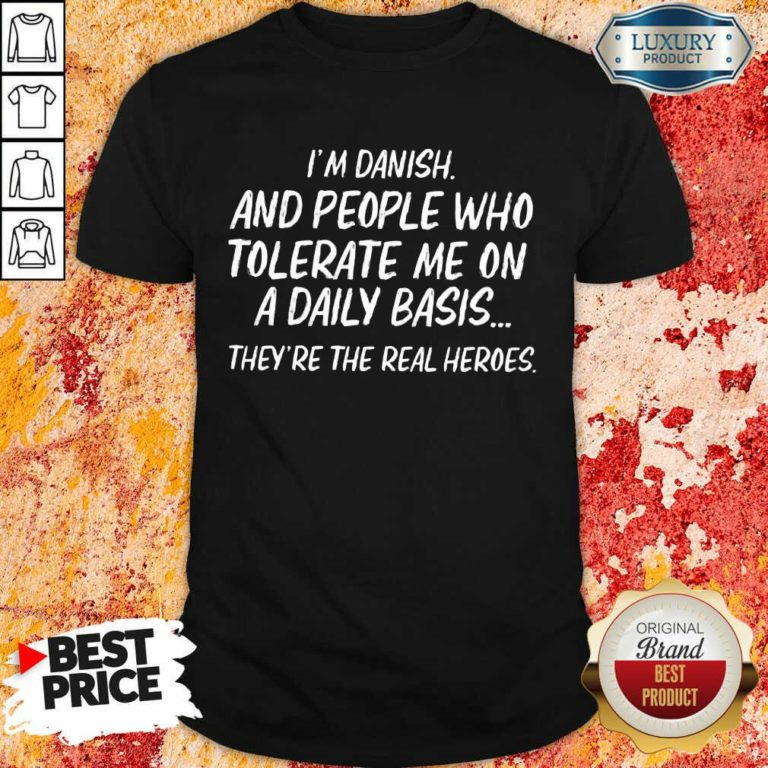 People Who Tolerate Me On A Daily Basis Shirt