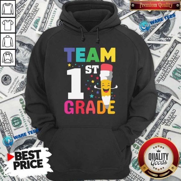Premium Pencil Team 1st Grade Hoodie