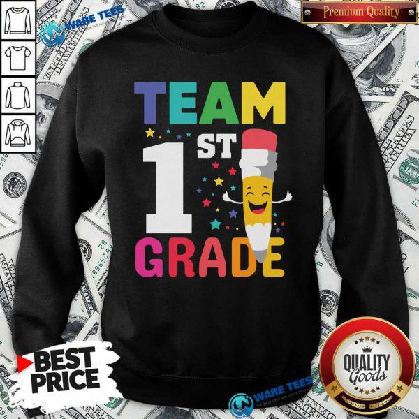Premium Pencil Team 1st Grade Sweatshirt