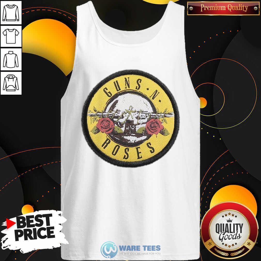 Pretty Guns N Roses Logo Tank Top